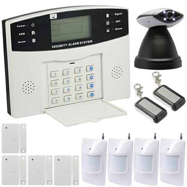 alarme maison mixte transmetteur gsm cam ra ip motoris e ematronic first comparer les prix de. Black Bedroom Furniture Sets. Home Design Ideas