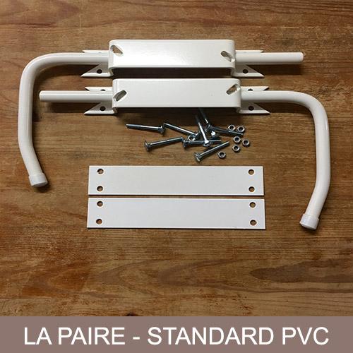 BLOQUE VOLET BLANC – LA PAIRE POUR VOLET PVC