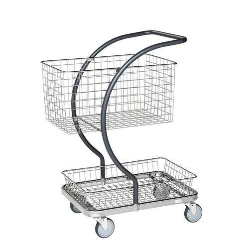 chariots de magasin tous les fournisseurs chariot metal magasin chariot metallique magasin. Black Bedroom Furniture Sets. Home Design Ideas