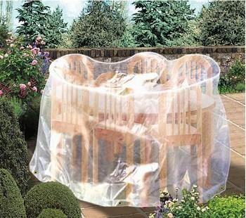 Housses pour mobiliers de jardin capvert achat vente de housses pour mobiliers de jardin for Housse table de jardin ovale