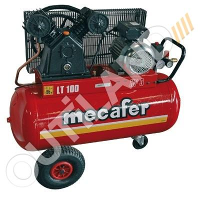 MECAFER COMPRESSEUR 3 HP CUVE 100L - BICYLINDRE V FONTE MECAFER 425316