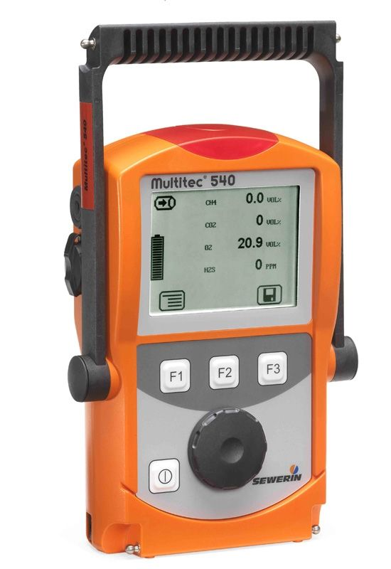 Analyseur de gaz multitec 540