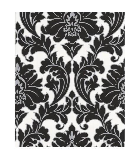 papier peint majestic noir et blanc graham brown. Black Bedroom Furniture Sets. Home Design Ideas