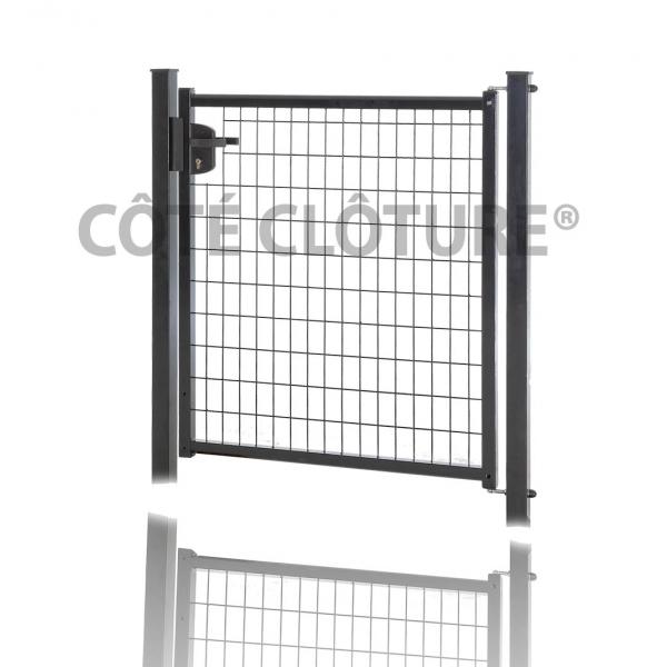 Clotures et portails en direct produits portillons for Portillon largeur 1m50