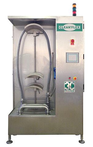 Unité nettoyage flexibles clean'flex