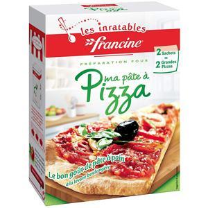 francine farine pour preparation pate a pizza 520 g