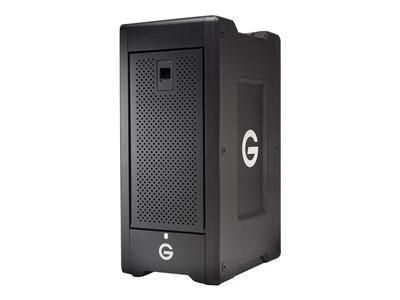 G-TECHNOLOGY G-SPEED SHUTTLE XL GSPSXTH2ESBEB180008BBB - BAIE DE DISQUES - 18 TO - 8 BAIES - HDD 3 TO X 6 - THUNDERBOLT 2 (EXTERNE)