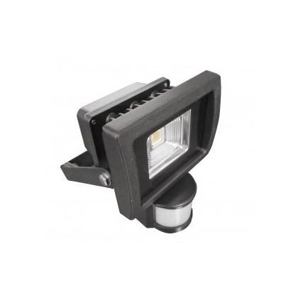 Eclairage de chantiers projecteur led 10w avec detecteur de mouvement v tac - Projecteur led avec detecteur de mouvement ...