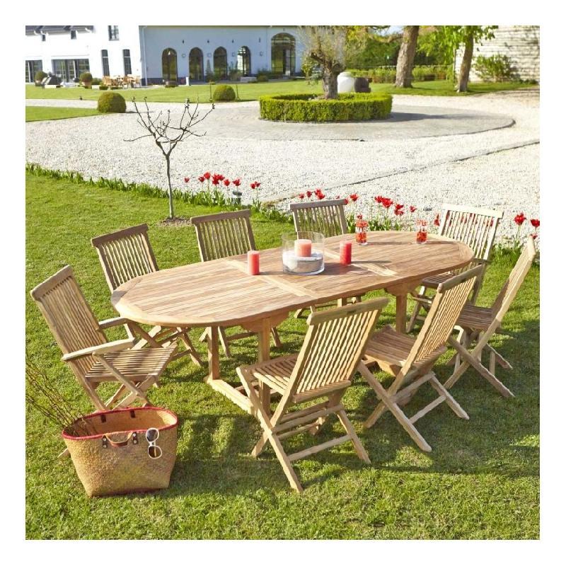 Salon de jardin bois dessus bois dessous - Achat / Vente de ...