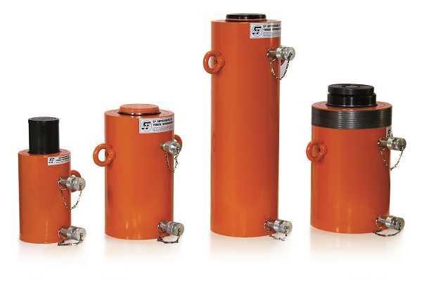 Vérin de retour hydraulique piston lisse (de.l)