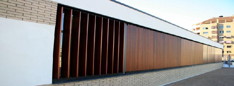 brise soleil lames orientables en bois. Black Bedroom Furniture Sets. Home Design Ideas