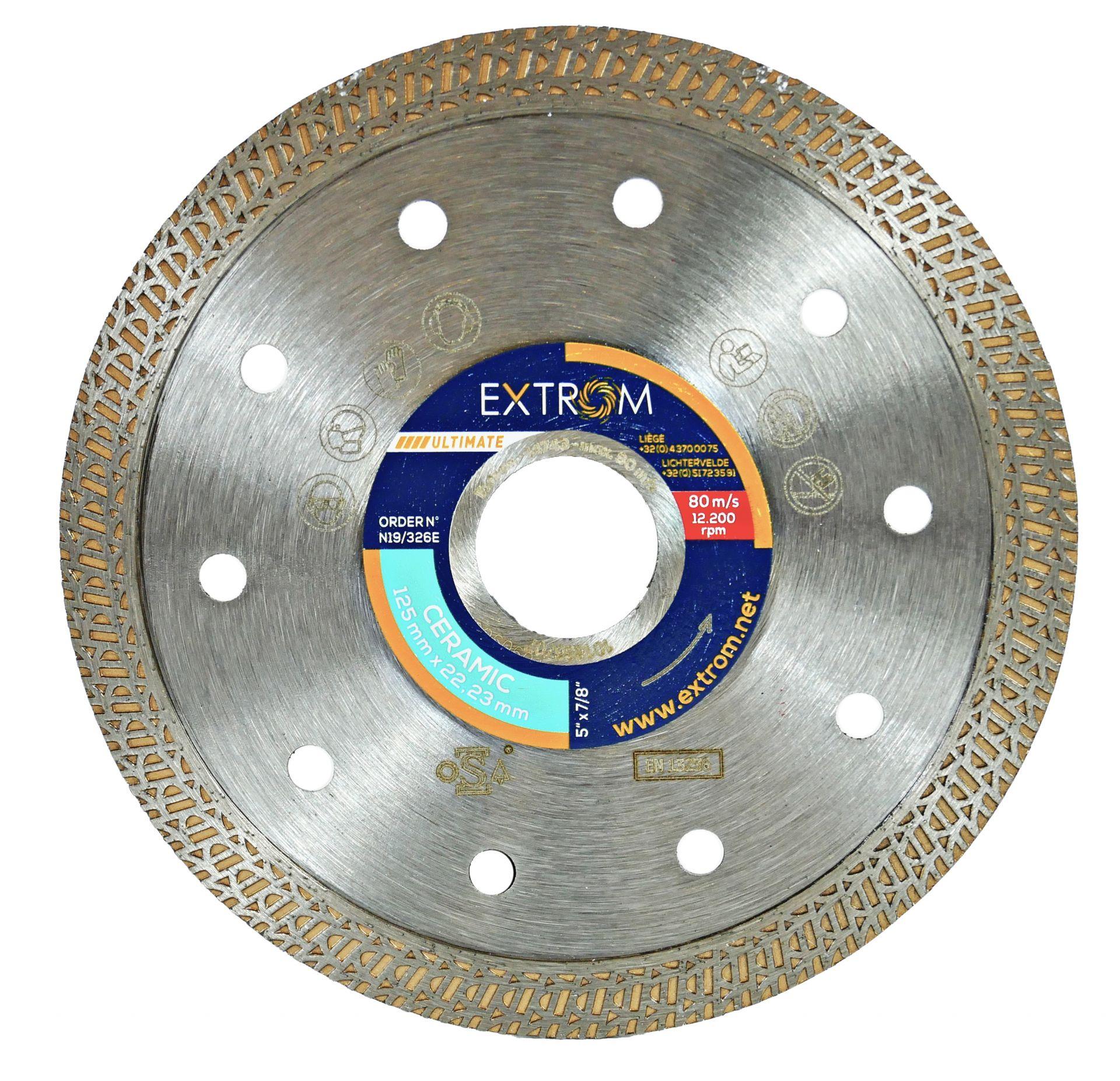 Disque diamanté ultimate extrom