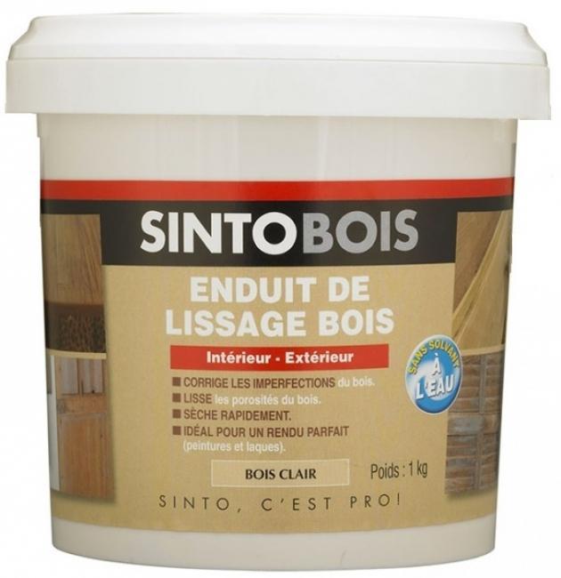 ENDUIT DE LISSAGE BOIS CLAIR 1 KG