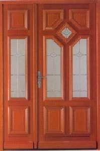 Porte d 39 entr e vitrage en bois beauvais tierce - Porte entree tierce ...