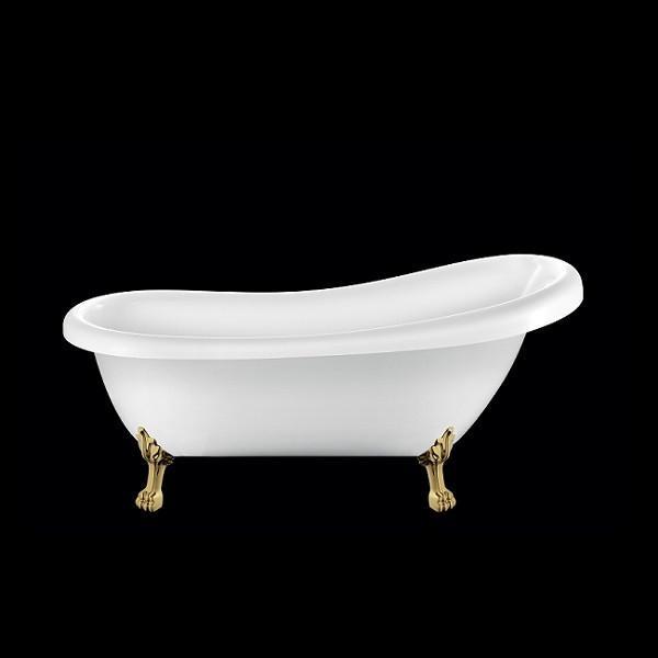 baignoire ancienne richmond blanche 155 cm comparer les. Black Bedroom Furniture Sets. Home Design Ideas