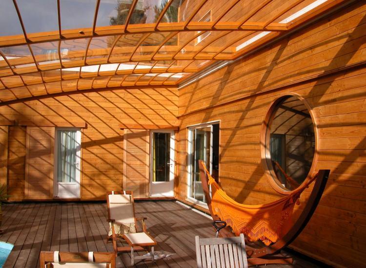 Maison en bois conception et agrandissement for Conception maison bois