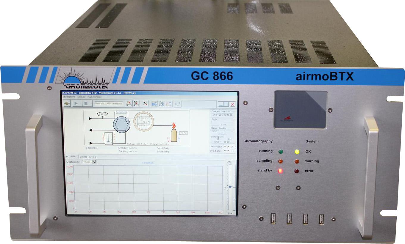 Analyseur gc/fid de btex - airmobtx pour l'analyse du benzene, toluene et xylène