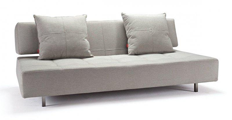 long horn canape mobile sur roulettes couleur lin convertible lit 200 140 cm. Black Bedroom Furniture Sets. Home Design Ideas