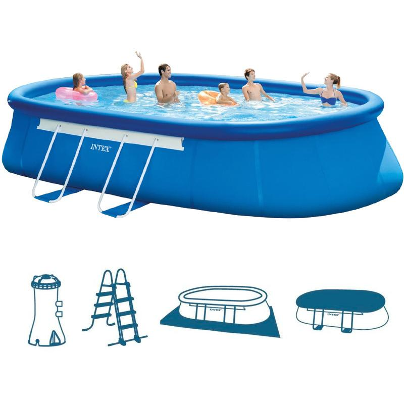 Piscines intex achat vente de piscines intex for Piscine gonflable chauffante
