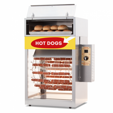 grill a hot dog tournant 39 56. Black Bedroom Furniture Sets. Home Design Ideas