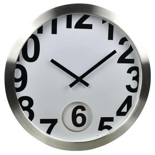 Horloge murale panike 6 comparer les prix de horloge murale panike 6 sur for Horloge murale inox