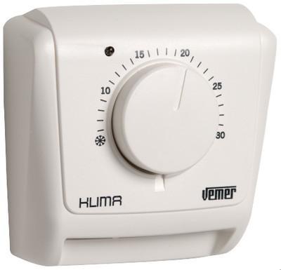 thermostat mecanique mural klima 3l ve020400. Black Bedroom Furniture Sets. Home Design Ideas