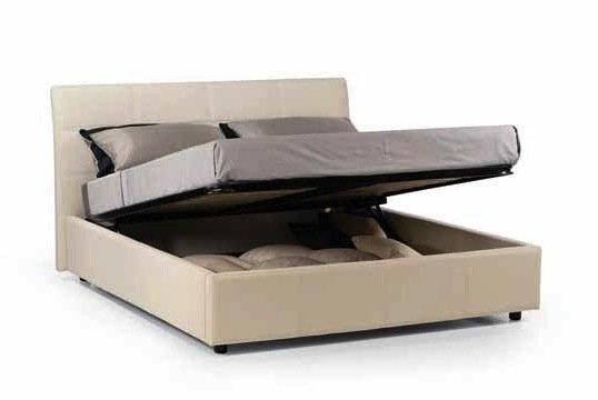 lit coffre design cesare couchage 2 personnes 160 200cm en cuir tete de lit capitonnee. Black Bedroom Furniture Sets. Home Design Ideas