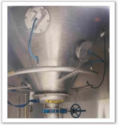 Système de fluidisation pour silos agricoles