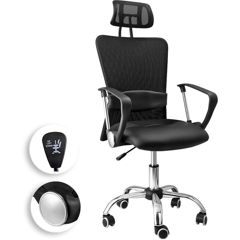 Si ge de bureau avec t ti re tous les fournisseurs de - Fauteuil de bureau avec appui tete ...