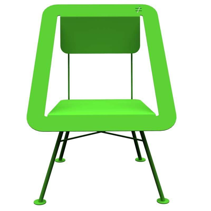 Chaise jardin verte 4x4 different different for Chaise de jardin verte