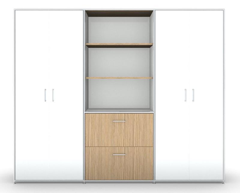 Mon bureau design produits de la categorie armoires a for Bureau avec rangement haut