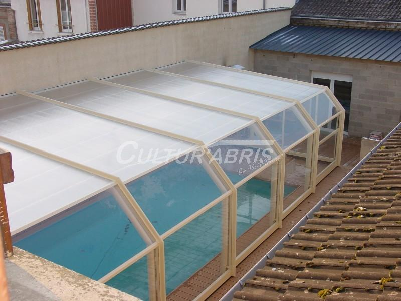 Abris de piscine accoles for Tunnel pour piscine
