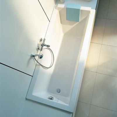 baignoire rectangulaire en acrylique starck 1600 et 1700mm. Black Bedroom Furniture Sets. Home Design Ideas