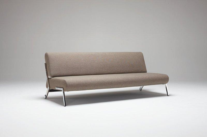 canape lit design debonair marron clair convertible 200 130. Black Bedroom Furniture Sets. Home Design Ideas