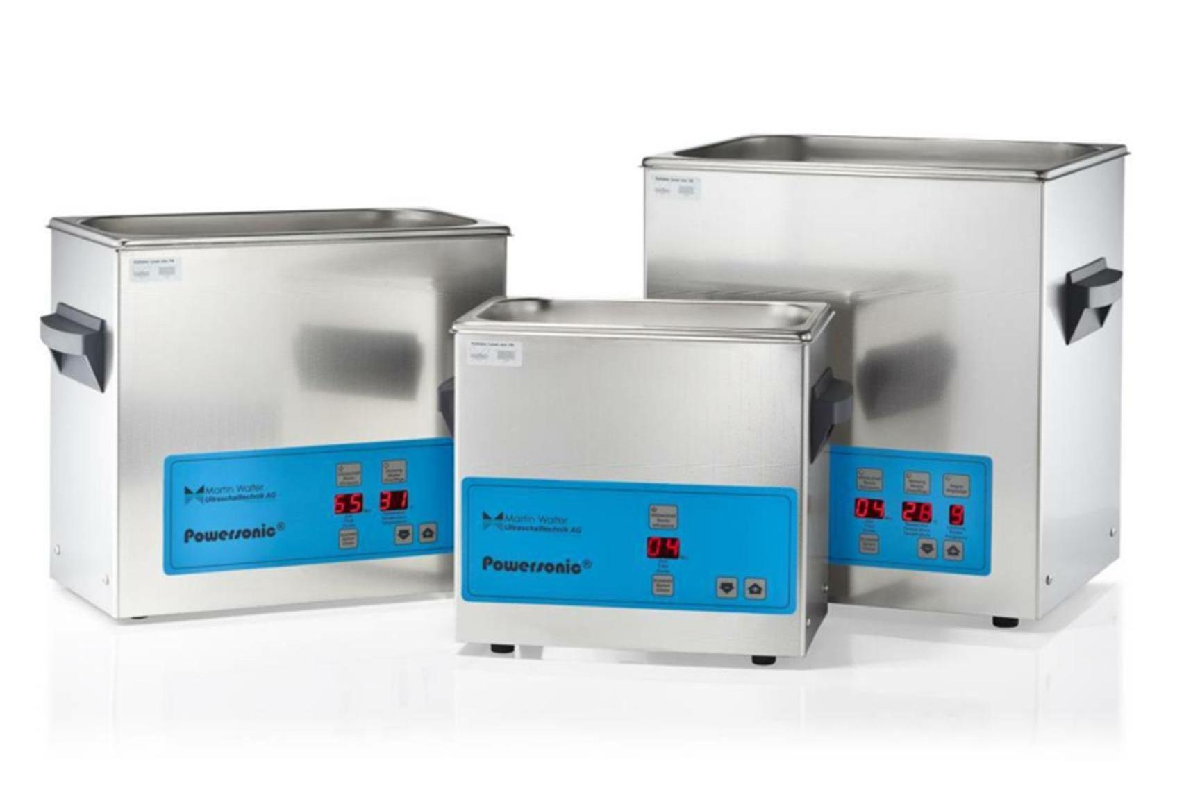 Cuves de nettoyage par ultrasons gamme laboratoire powersonic