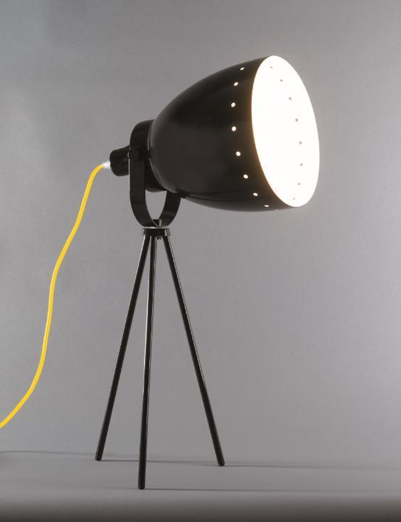 Lampe à poser camera (3 coloris)