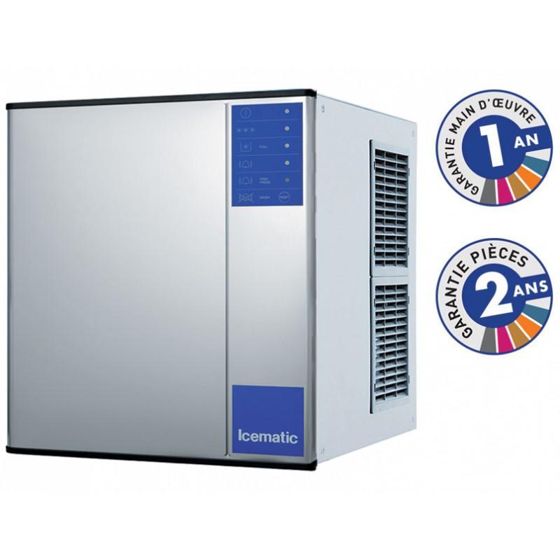 Machine à glaçons pro pleins condenseur air production 225 kg/jour - n192mix