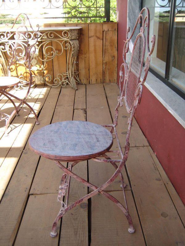 Chaises de jardins achat vente chaises de jardins au meilleur prix hellopro - Chaise pliante salon ...