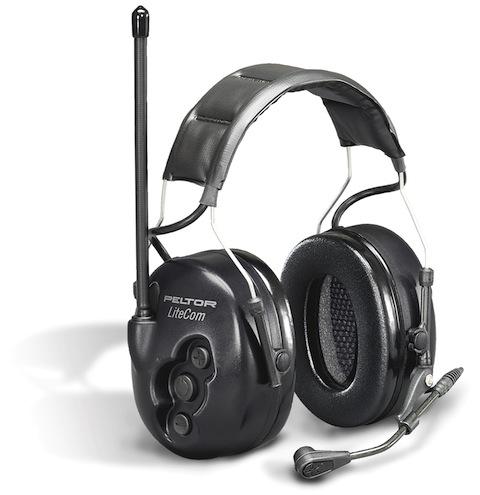Casques actifs anti-bruit de communication