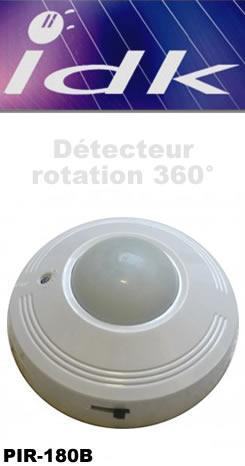 D tecteurs de mouvement idk achat vente de d tecteurs for Detecteur de presence pour eclairage exterieur