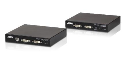 CE624 - DÉPORT KVM DVI CÂBLES CAT.6/A / MINI-JACK / USB OU RS-232