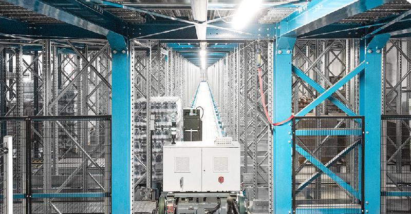 Frs - fast rotation storage - solution de stockage à faible hauteur