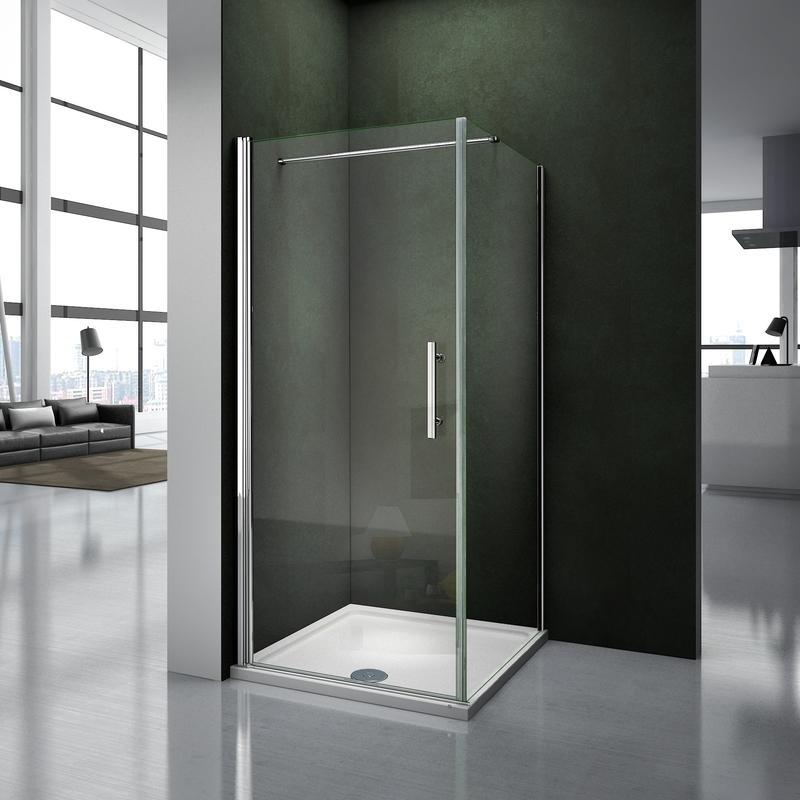 Ecrans et parois de douche comparez les prix pour - Pose porte douche verre ...