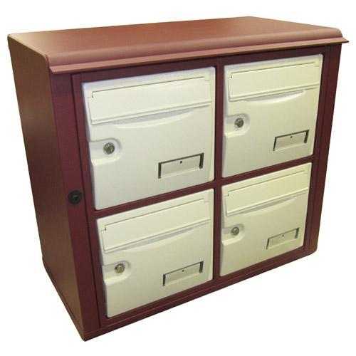 boites aux lettres pour l 39 exterieur modele epsilon exterieur ligne prestige. Black Bedroom Furniture Sets. Home Design Ideas