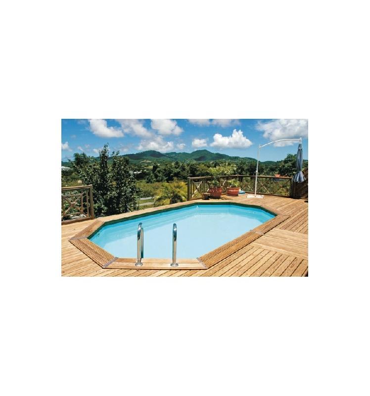Piscine en kit tous les fournisseurs piscine hors sol for Piscine ronde enterree