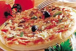 Pizza jambon - champignon - fromage - réf : 6174