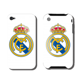 COQUE IPHONE REAL MADRID BLANC