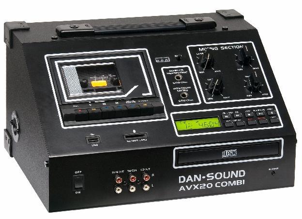 LECTEUR K7 / CD DAN SOUND AVX-20 USB COMBI