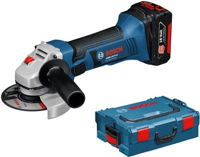 Bosch meuleuse 125 mm 18 v li ion 2x5ah gws18 125 060193a30f - Meuleuse bosch pro ...