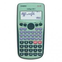 CASIO CALCULATRICE SCIENTIFIQUE FX 92 COLLEGE 2D+